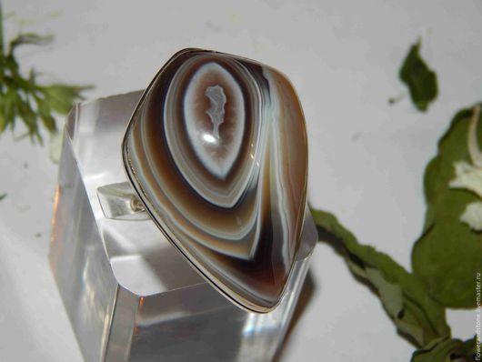 """Кольца ручной работы. Ярмарка Мастеров - ручная работа. Купить Кольцо """"Лабиринты"""" из агата. Handmade. Комбинированный, кабашон"""