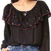 Одежда handmade. Livemaster - original item Women`s embroidered blouse ЖР4-084. Handmade.
