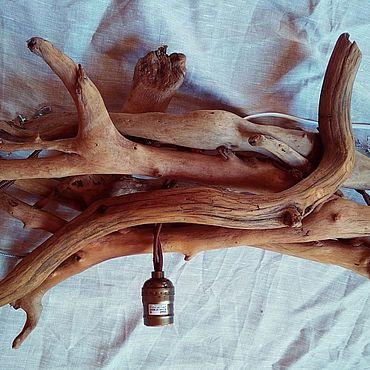 Освещение ручной работы. Ярмарка Мастеров - ручная работа Люстра - композиция из коряг. Handmade.