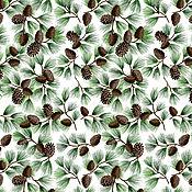 Материалы для творчества ручной работы. Ярмарка Мастеров - ручная работа Хлопок Pine With Glitter, США. Handmade.