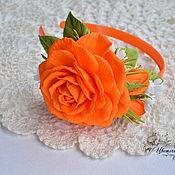 handmade. Livemaster - original item Bezel with rose