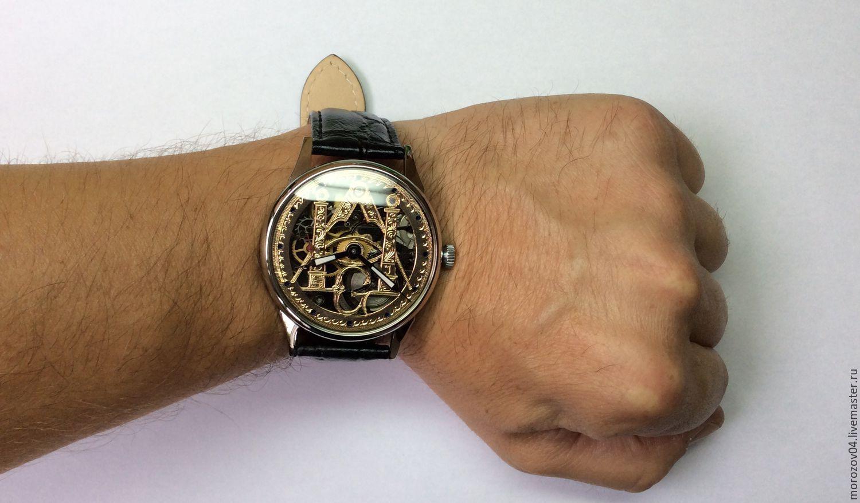 b8b14bc810d2 Часы ручной работы. Наручные часы ручной работы.С натуральным бриллиантом  137. watchik.