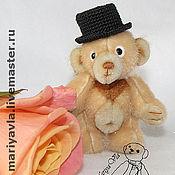 Куклы и игрушки ручной работы. Ярмарка Мастеров - ручная работа Миник медведь Люсьен (6.5 см). Handmade.