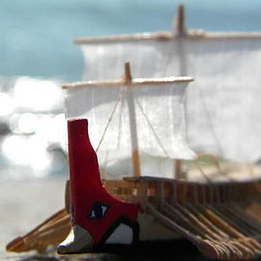 """Куклы и игрушки ручной работы. Ярмарка Мастеров - ручная работа Триера """"Олимпия"""". Handmade."""