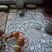 Для дома и интерьера ручной работы. Ярмарка Мастеров - ручная работа Круглая салфетка. Handmade.