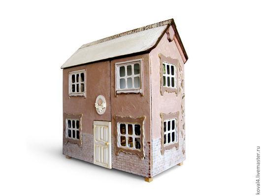 Кукольный дом ручной работы. Ярмарка Мастеров - ручная работа. Купить кукольный дом. Handmade. Кукольный дом, лепнина, кракелюр