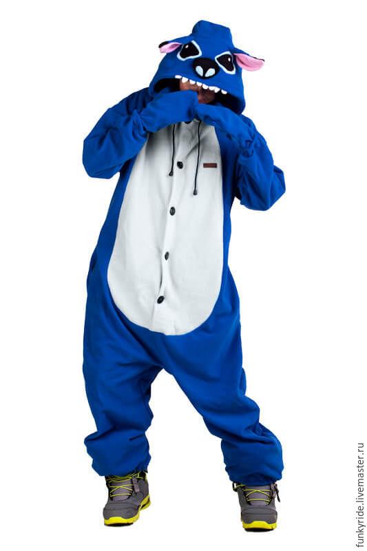 Costume kigurumi Stitch FUNKY STITCH KIGU, Cosplay costumes, Magnitogorsk,  Фото №1