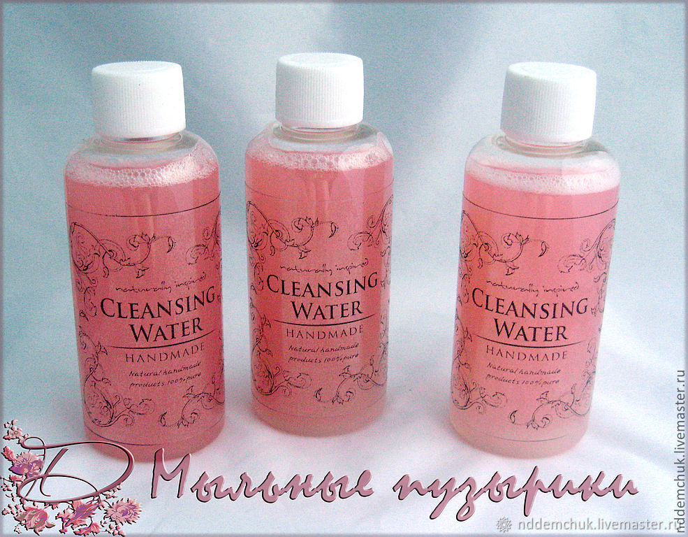 Micellar water 'Luxury rose', Micellar Water, Moscow,  Фото №1