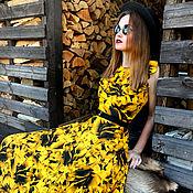 """Одежда ручной работы. Ярмарка Мастеров - ручная работа Платье  """"Legend. Yellow Roses"""". Handmade."""