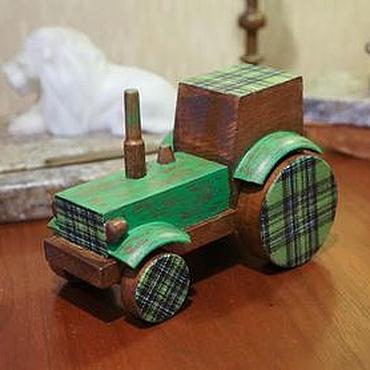 Куклы и игрушки ручной работы. Ярмарка Мастеров - ручная работа Трактор. Handmade.
