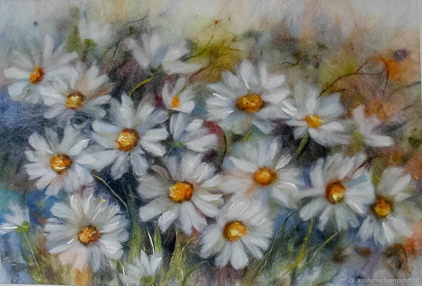 picture of wool Daisies, Pictures, Engels,  Фото №1