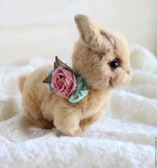 Мишки Тедди ручной работы. Ярмарка Мастеров - ручная работа. Купить Кролик Молли авторская игрушка тедди. Handmade. Рыжий
