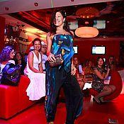 """Одежда ручной работы. Ярмарка Мастеров - ручная работа Комплект брюки и шарфик """"Ночные огни"""". Handmade."""