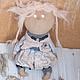 кукла ручной работы, красивая кукла, подарок подруге, подарок на 8 марта, красивая кукла, купить куклу в подарок, кукла интерьерная