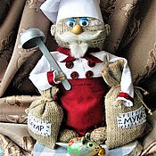 Русский стиль ручной работы. Ярмарка Мастеров - ручная работа Домовой Демьян -повар. Handmade.