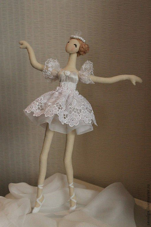 Кукла балерина своими руками фото 833
