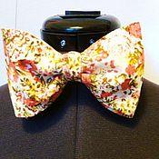 Аксессуары handmade. Livemaster - original item Bow tie Lordly lordly linen cotton. Handmade.