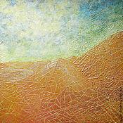 Картины и панно ручной работы. Ярмарка Мастеров - ручная работа Золотые пески. Handmade.