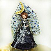 Куклы и игрушки handmade. Livemaster - original item The Queen of the Night-a fabulous porcelain doll. Handmade.
