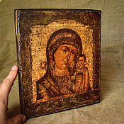 Картины и панно handmade. Livemaster - original item The Kazan icon of the Mother of God. Handmade.