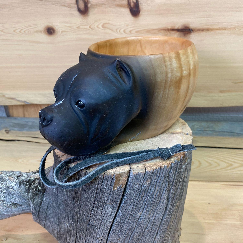 Кукса из Берёзова Капа с головой бульдога, Кружки, Мурманск,  Фото №1