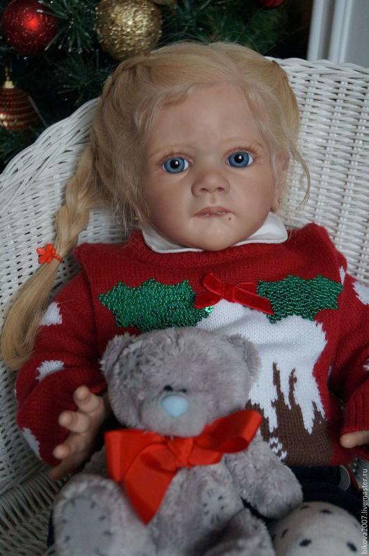 Куклы-младенцы и reborn ручной работы. Ярмарка Мастеров - ручная работа. Купить Holly. Handmade. Ярко-красный, генезис