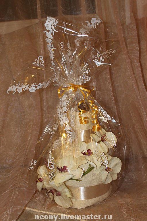 Подарки для новорожденных, ручной работы. Ярмарка Мастеров - ручная работа. Купить Торт из полотенец Сказка. Handmade. 100% хлопок