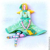 Куклы и игрушки ручной работы. Ярмарка Мастеров - ручная работа Полина - Фея зелёного чая. Handmade.