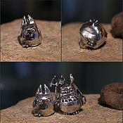 Материалы для творчества handmade. Livemaster - original item Tibi Totoro charm. Handmade.