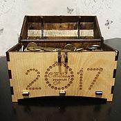 Упаковка ручной работы. Ярмарка Мастеров - ручная работа Сундук с гравировкой. Handmade.