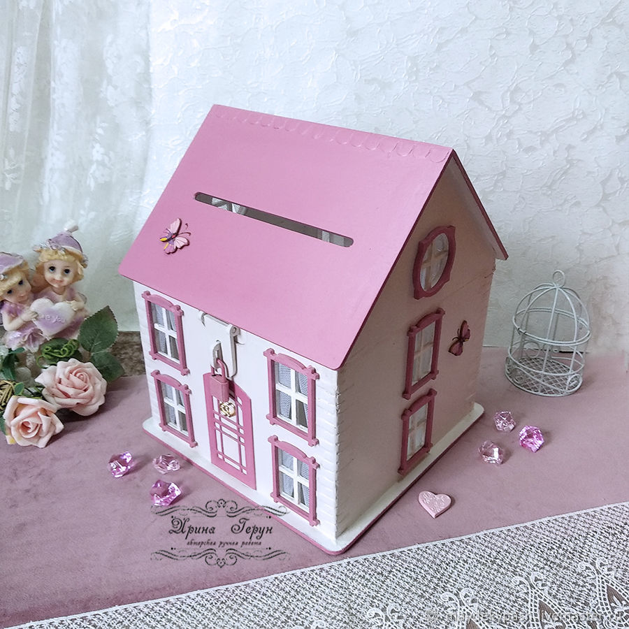 House lamp Treasury for money. ( Work to order), Doll houses, Shack,  Фото №1
