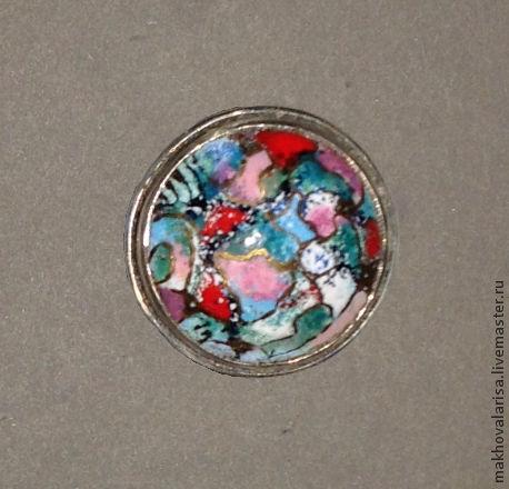 Кольца ручной работы. Ярмарка Мастеров - ручная работа. Купить Кольцо цветок. Handmade. Голубой, украшение на руку, красивое украшение