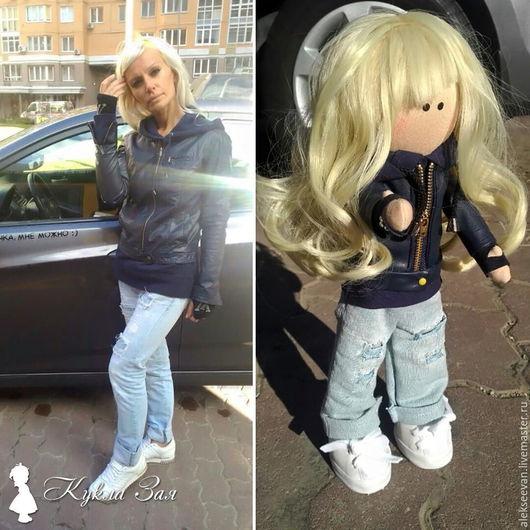 Портретные куклы ручной работы. Ярмарка Мастеров - ручная работа. Купить Портретная кукла Маша. Handmade. Текстильная кукла