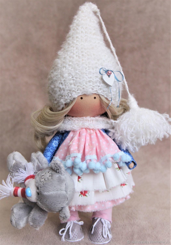 Гномочка. Интерьерная текстильная кукла, Тыквоголовка, Санкт-Петербург,  Фото №1