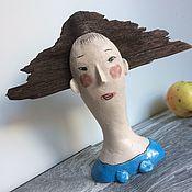 Для дома и интерьера ручной работы. Ярмарка Мастеров - ручная работа Ветер в голове. Качалка из керамики и дерева. Handmade.