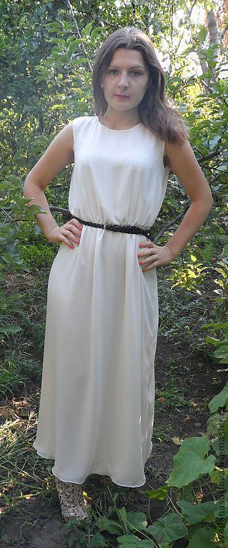 """Платья ручной работы. Ярмарка Мастеров - ручная работа. Купить Платье """"Нежность"""". Handmade. Белый, красивое платье, длинное платье"""