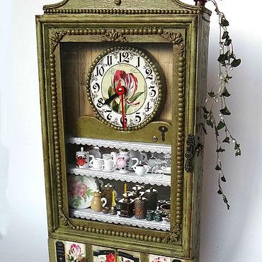 For home and interior handmade. Livemaster - original item Часы настенные. Handmade.