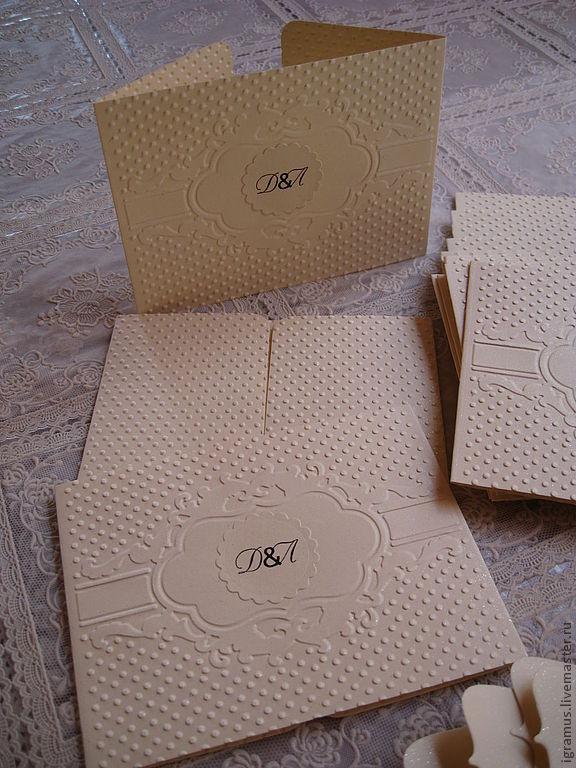 Wedding invitation, Wedding Cards, Moscow,  Фото №1