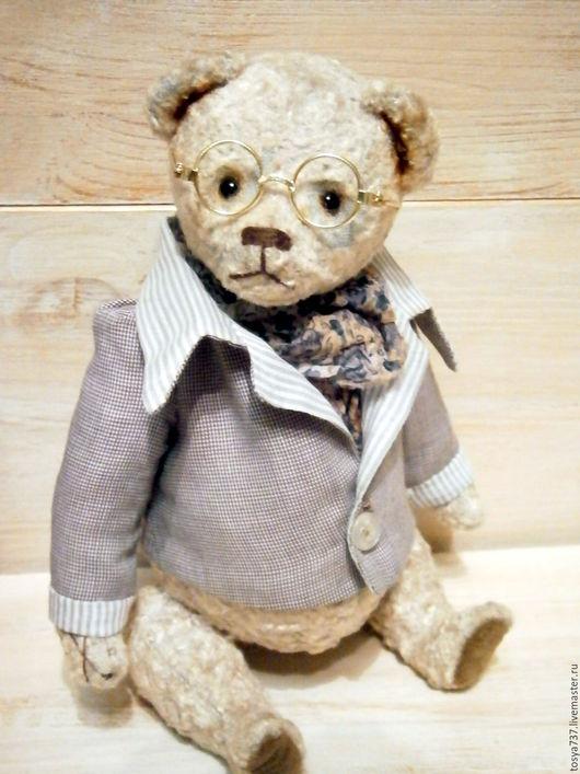 Мишки Тедди ручной работы. Ярмарка Мастеров - ручная работа. Купить Майк. Handmade. Серый, мишка тедди винтаж