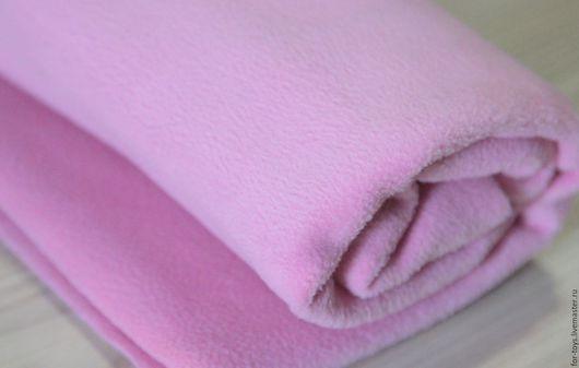 Флис   390  г/м . Розовый