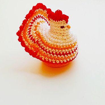 Подарки к праздникам ручной работы. Ярмарка Мастеров - ручная работа Курочка пасхальная на яичко подарок купить. Handmade.