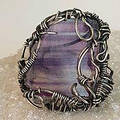 Украшения handmade. Livemaster - original item ring with fluorite. Handmade.