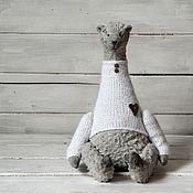 Куклы и игрушки ручной работы. Ярмарка Мастеров - ручная работа Мишка серенький. Handmade.