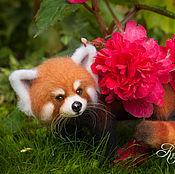 Куклы и игрушки ручной работы. Ярмарка Мастеров - ручная работа Малая панда Вейки. Handmade.