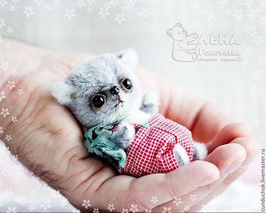 Мишки Тедди ручной работы. Ярмарка Мастеров - ручная работа. Купить Котёнок Том :). Handmade. Котик, синтепух