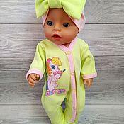 Одежда для кукол ручной работы. Ярмарка Мастеров - ручная работа Комплект для Беби Бон. Handmade.