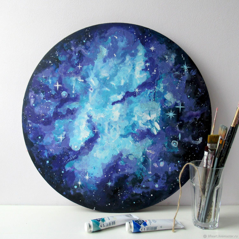 Space landscape acrylic, Pictures, Belgorod,  Фото №1