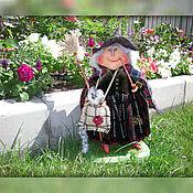 Куклы и игрушки ручной работы. Ярмарка Мастеров - ручная работа Кукла. Гита Ягг (Нянюшка Ягг). Handmade.