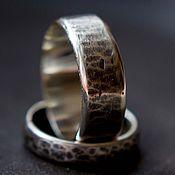 Украшения ручной работы. Ярмарка Мастеров - ручная работа Обручальные кольца серебро. Handmade.