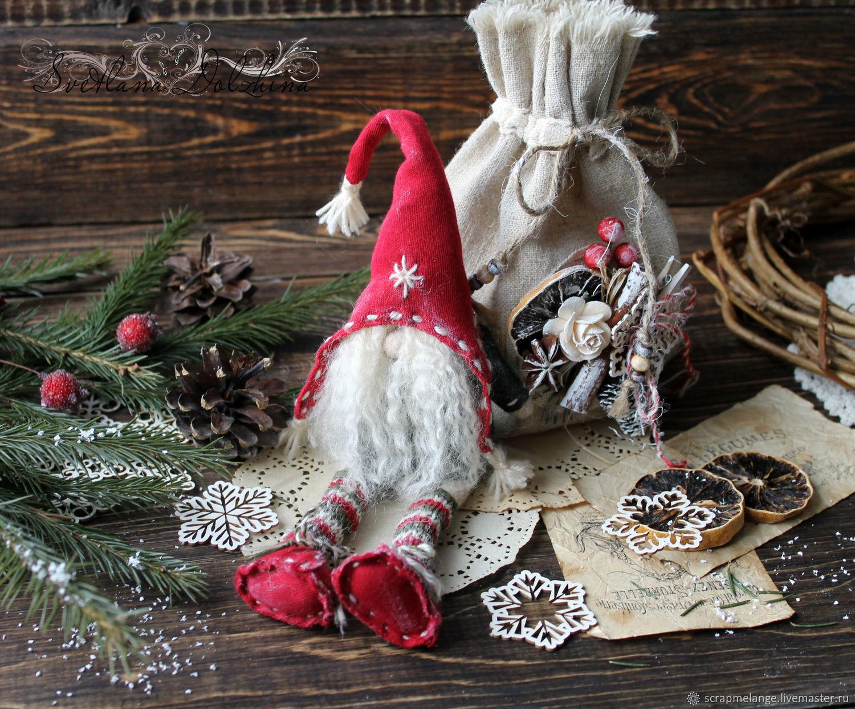 new year 2018 handmade fair masters handmade buy christmas gnome handmade - Christmas Gnome